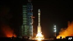 """""""天宫一号""""9月29日从中国酒泉卫星发射中心升空"""