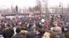 Բողոքի ցույցերը շարունակվում են Ռուսաստանում