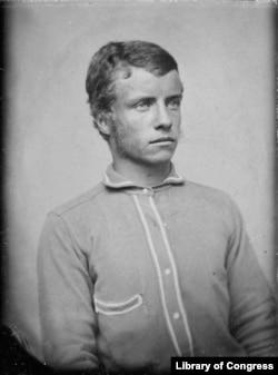 Theodore Roosevelt in 1875