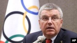 奧委會主席巴赫 (資料照片)
