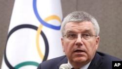 国际奥委会主席托马斯·巴赫(资料照片)