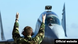MiG 29 ratnog vazduhoplovstva Srbije tokom zajedničke srpsko-ruske vežbe BARS 2106 (Foto: Ministarstvo odbrane Republike Srbije)