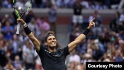 US Open တင္းနစ္ Rafael Nadal ဗိုလ္စြဲ(Credit- USOpen)