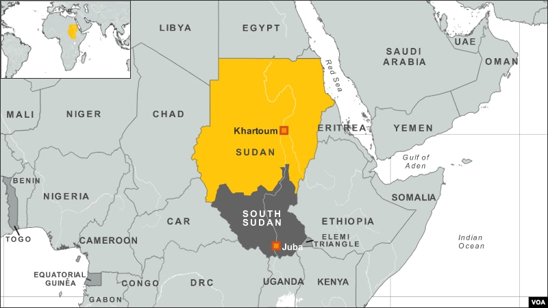 Image result for map south sudan
