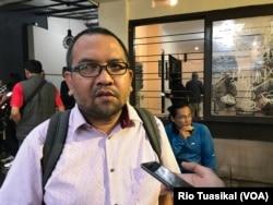 Direktur ICJR Anggara Suwahju mengatakan gugatan ini berkaca pada kasus Fidelis pada 2017. (VOA/Rio Tuasikal)