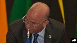 Smail Chergui, commissaire à la Paix et à la Sécurité de l'Union africaine, à Nairobi, Kenya, le 2 septembre 2014