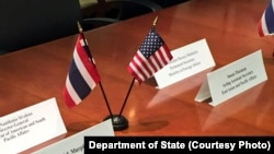 Senior delegations representing the United States and Thailand met on July 14, 2017