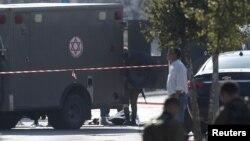 Lokasi kekerasan di Tepi Barat di mana seorang penyerang Palestina ditembak tewas setelah melakukan penikaman, Kamis (24/12).