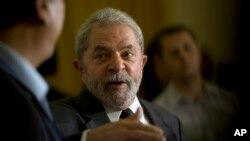 루이즈 이나시우 룰라 다 실바 전 브라질 대통령. (자료사진)