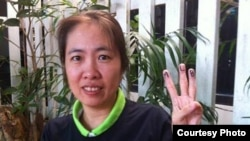 FILE - Vietnamese police have detained blogger Me Nam, shown in this undated photo, for posting anti-state reports.