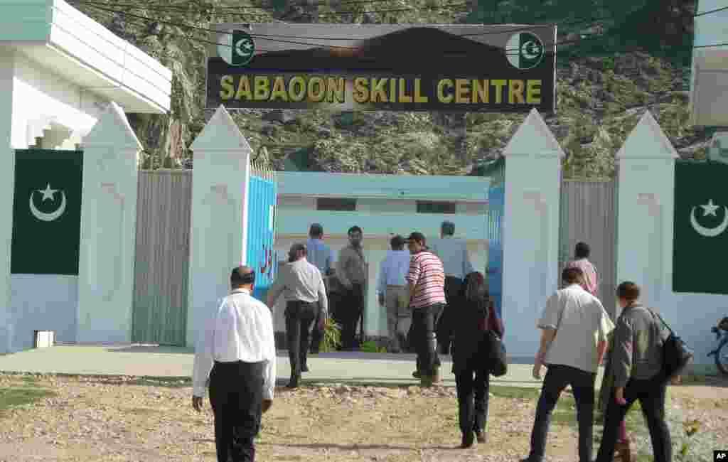 خود کش بمبار بچوں کی بحالی کے لیے قائم سباؤن سنٹر.