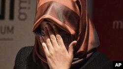 沙特记者卡舒吉未婚妻哈蒂丝·简吉兹