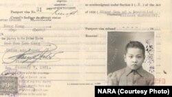 Dokumen aplikasi imigrasi ke Amerika Serikat. (Foto: Dok)