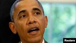 Obama dijo que aunque la tasa de desempleo sigue siendo muy alta es más baja que cuando él llegó a la Casa Blanca.