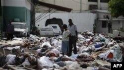 Гаити после землетрясения 2010 г. (архивное фото)