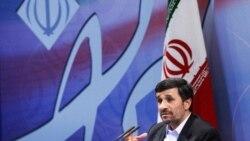 محمود احمدی نژاد در یک کنفرانس خبری - ۲۹ نوامبر ۲۰۱۰