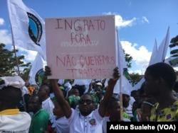 Protestos contra o MDM, Nampula