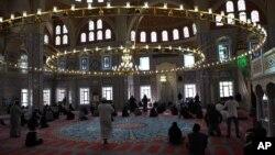 Une mosquée à Johannesburg, Afrique du Sud