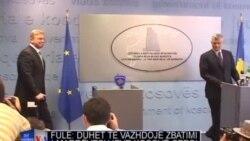 Fule: Duhet të vazhdojë procesi i zbatimit të marrëveshjes Prishtinë-Beograd