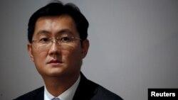 2016年3月17日,騰訊董事長馬化騰在香港宣佈公司業績。