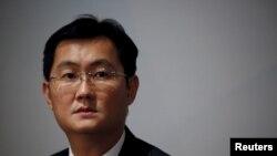 2016年3月17日,腾讯董事长兼首席执行官马化腾在香港出席新闻发布会,宣布公司业绩。