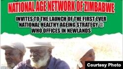 Sangano reThe National Age Network of Zimbabwe, iro rinoshanda nevakwegura.
