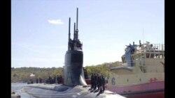一艘美軍核潛艇在印太地區公海潛航時撞上物體