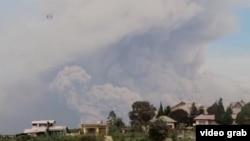 Volkana Çiyayê Sinabung yê Indonesiya 02.08.2018