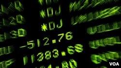 Los mercados bursátiles en Estados Unidos y Europa operan en negativo.