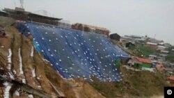 rohingya-monsoon rain