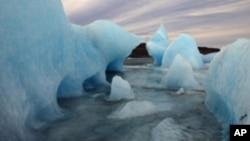 冰島冰川一直融化(資料圖片)