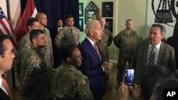 Arşîv: Joe Biden li Balyozxana Amerîka li Bexda