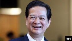 Cựu Thủ tướng Việt Nam Nguyễn Tấn Dũng.