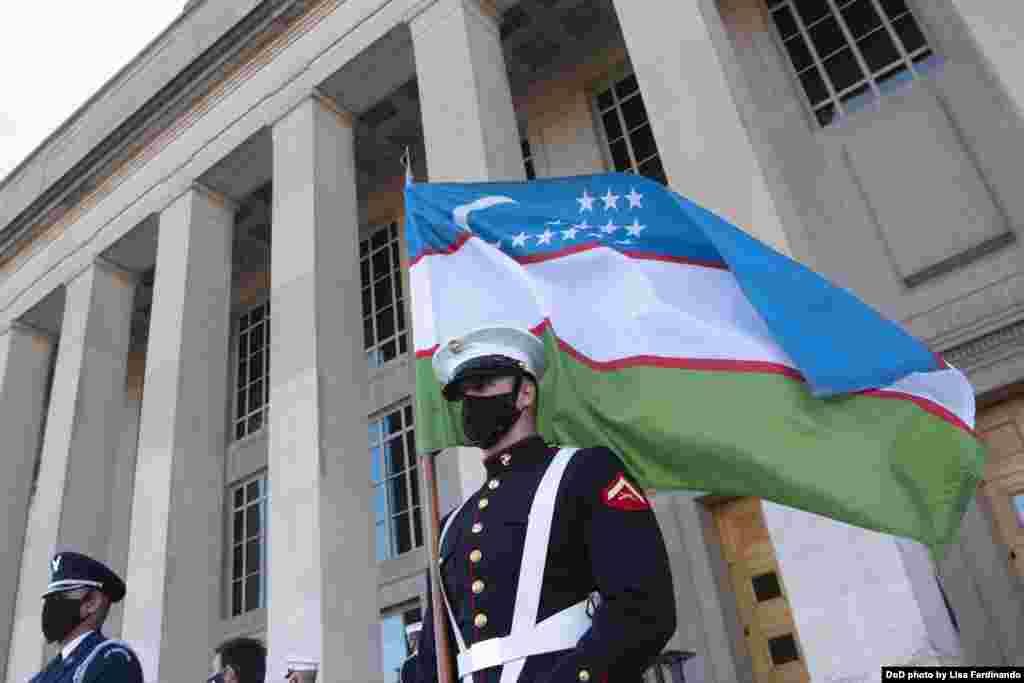 AQSh-O'zbekiston: Pentagon, 19-noyabr, 2020