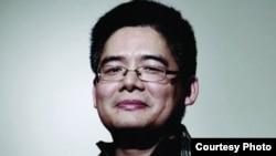 """被称""""工运之星""""的广东劳工运动人士曾飞洋(公益服务网图片)"""