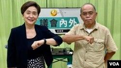 香港民意研究所副行政總裁鍾劍華8月6日出席民主黨前主席劉慧卿的網台節目,探討香港運動員在奧運的表現和香港人在當中產生的身份認同(美國之音/湯惠芸)