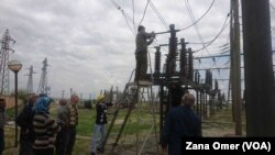 Karmendên sektora elektirikê li Cizîrê dixebitin bo başkirina rewşa elektirîkê li Bakurê Sûriyê