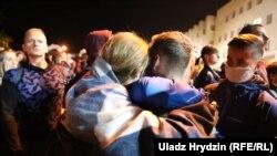 Звільнені з ув'язнення у Мінську в ніч з 13 на 14 серпня 2020 р.