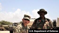 Des soldats américains en Somalie