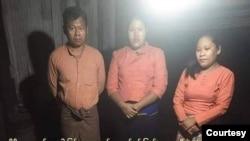 AA တို႔ ဖမ္းဆီးထားတဲ့ ရခိုင္ NLD ကိုယ္စားလွယ္ေလာင္း ၃ ဦး ( ဓါတ္ပံု- AA လက္နက္ကိုင္အဖြဲ႔က ထုတ္ျပန္တဲ့ဓါတ္ပံု)
