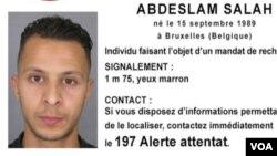 Salah Abdeslam, le cerveau présumé des attentats de Paris été arrêté vendredi à Bruxelles