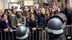 """Полицијата испразни кампови на """"Окупаторите"""""""