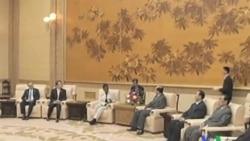 2011-10-20 粵語新聞: 聯合國人道救援機構首腦會晤北韓議長