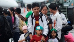 필리핀 태풍 피해 어린이 예방접종