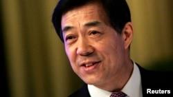 2008年1月26日原重庆市党委书记薄熙来出席国人民政治协商会议