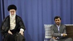 جنگ اطلاعاتی خامنه ای و احمدی نژاد برای بقا سیاسی است