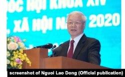 Tổng Bí thư-Chủ tịch nước Nguyễn Phú Trọng đã đẩy mạnh chống tham nhũng trong nhiệm kỳ của ông