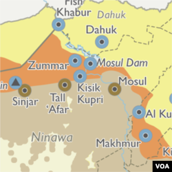 Mosul area