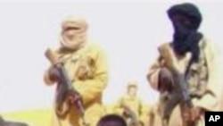 Des combattants de l'Al-Qaïda au Maghreb islamique (Aqmi)