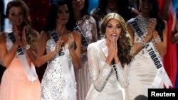 Miss Venezuela Gabriela Isler se convirtió en la nueva Miss Universo, en más reciente concurso realizado en Rusia.